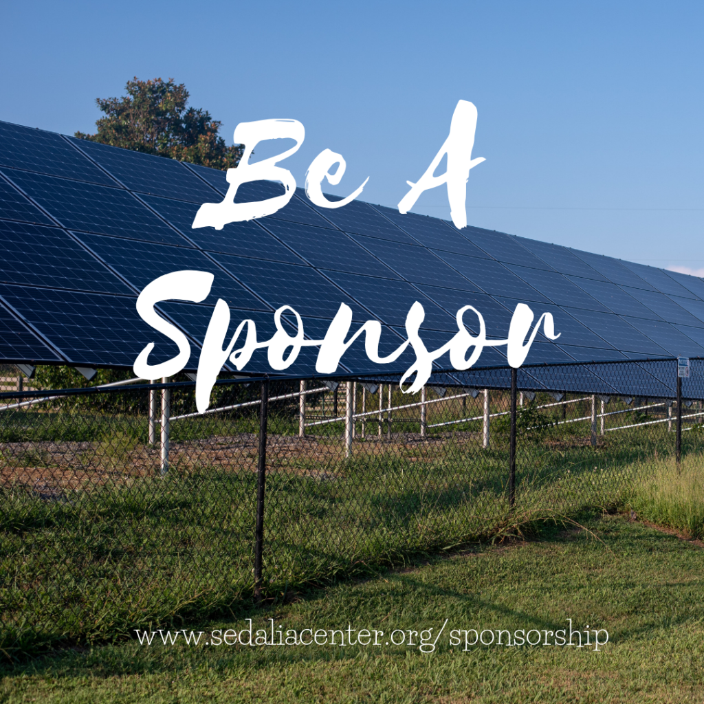 Become a Sponsor at the Sedalia Center