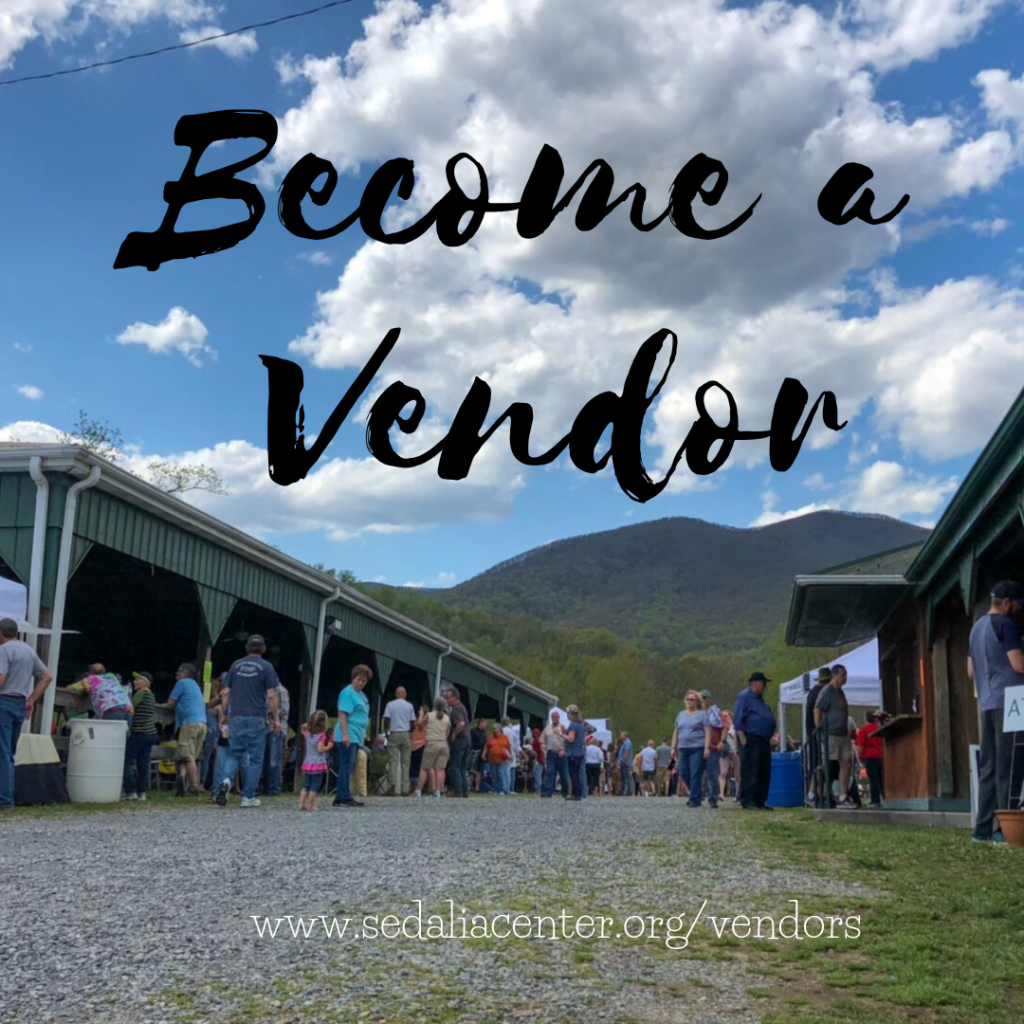 Become a Vendor at The Sedalia Center