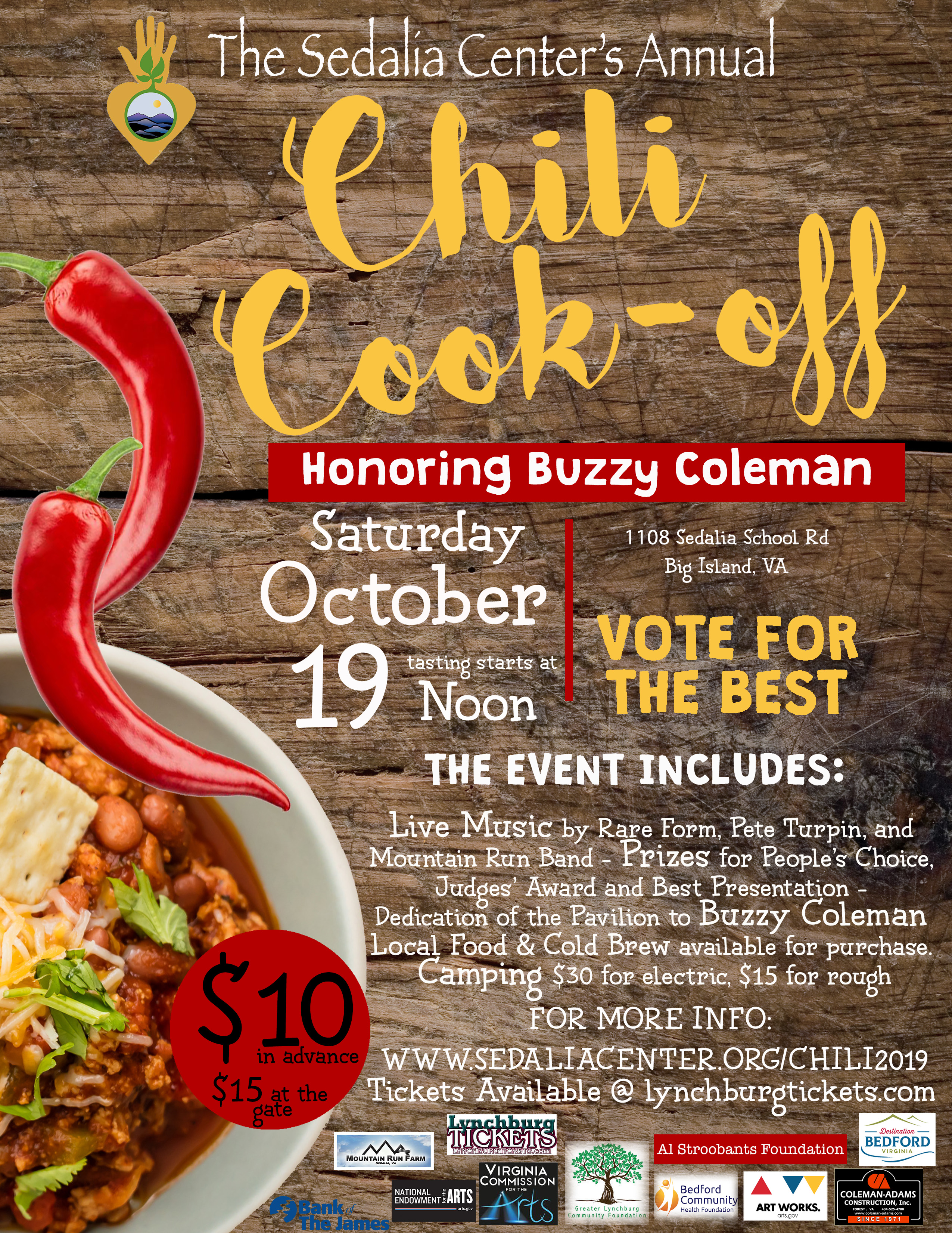 2019 Chili Cook-Off