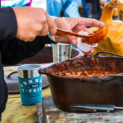 There were gallons of chili served up Saturday at Sedalia.