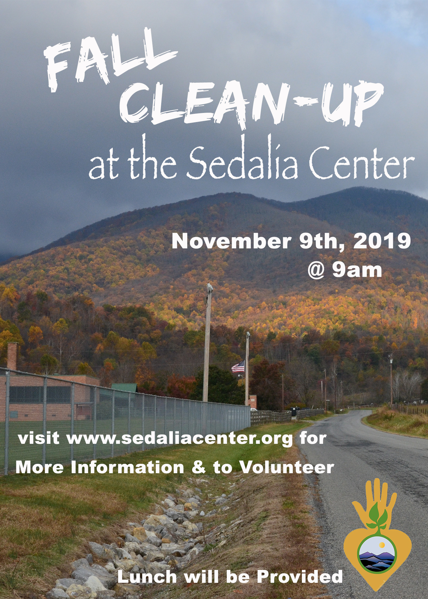 2019 Fall Clean-Up at the Sedalia Center