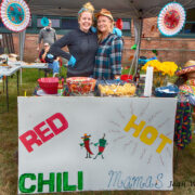 This is the first year the Red Hot Chili Mamas competed.