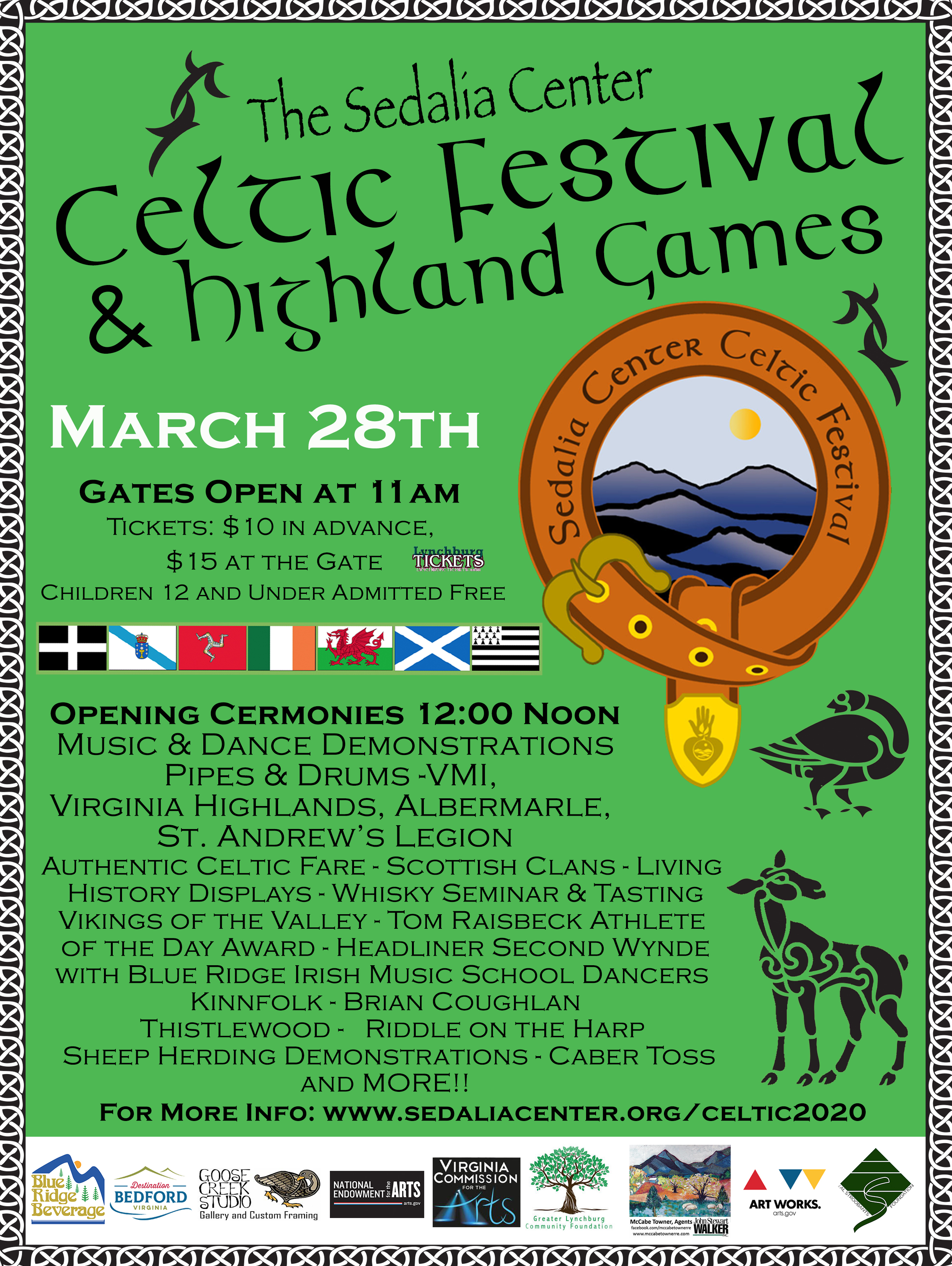 2020 Celtic Festival & Highland Games