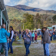 There was a record breaking, chili eating crowd on Saturday.