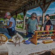 Sonya Forte is always a favorite place to purchase beautiful art pieces at the Fair.
